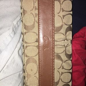 Large Brown Coach Wallet